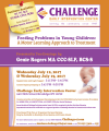 Feeding Problems in Young Children, 2 Day Course – July 12 & July 19